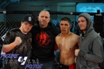 Junior Villanueva with Last Stand Fight Team WCFC1-7-12-1
