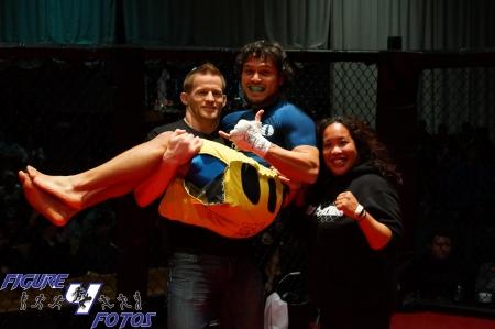 Gustavo Farias  vs. Ahmed Abdelaziz  -  lightweight fight Rocktagon MMA-8